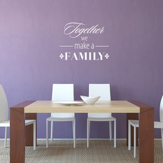 'Family' Vinyl Wall Art