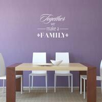 'Family' Vinyl Wall Art