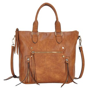 Madison West Shelby Faux Leather Shoulder Bag