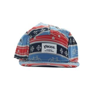 Society Men's 500 5 Panel Navy Hat