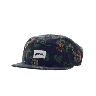 Society Men's Rose Cameo 5 Panel Hat