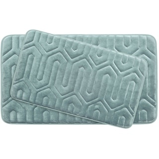 Thea Memory Foam 2-Piece Bath Mat Set w/ BounceComfort Technology