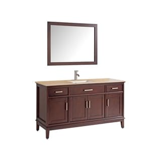 "Sierra 48"" Single Sink Bathroom Vanity Set"