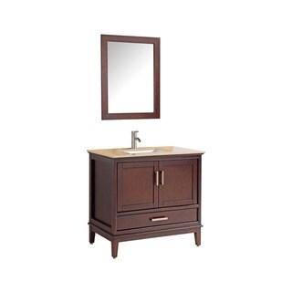 """Sierra 36"""" Single Sink Bathroom Vanity Set"""