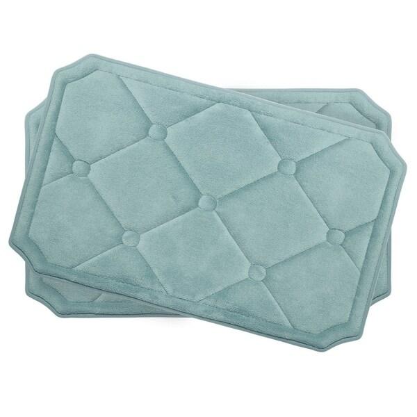 Gertie Memory Foam 2-piece Bath Mat Set with BounceComfort Technology