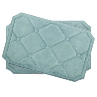 Gertie Memory Foam 2-piece Bath Mat Set with BounceComfort Technology