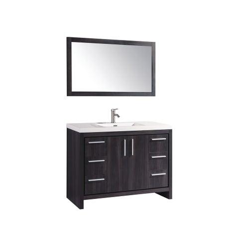 "Miami 48"" Single Sink Bathroom Vanity Set"