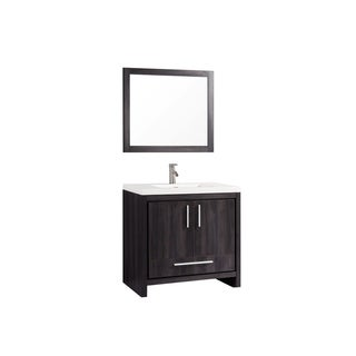 "Miami 36"" Single Sink Bathroom Vanity Set"
