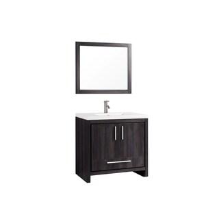 "Miami 36"" Single Sink Bathroom Vanity Set"