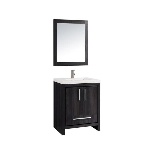 Miami 24 Single Sink Bathroom Vanity Set On Sale Overstock 12734555
