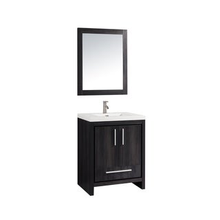 "Miami 24"" Single Sink Bathroom Vanity Set"