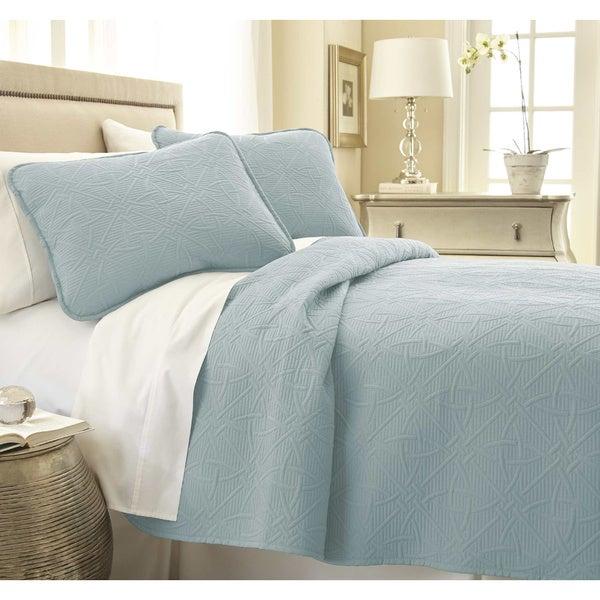Southshore Fine Linens Modern 3-piece Quilt Set