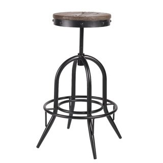 Fashionable Black Tolix Barstool