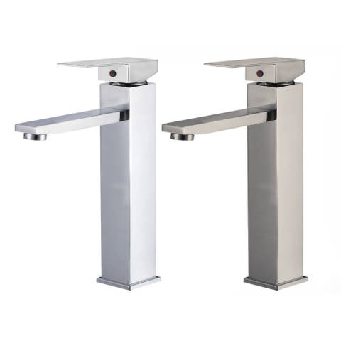Atlantis 8124 12-inch Single-hole Lever-handle Bathroom Faucet