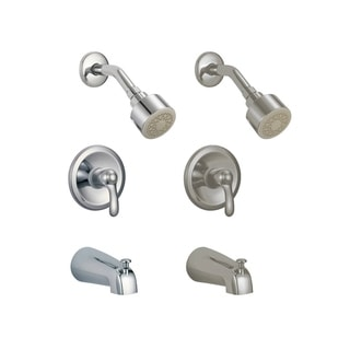 Victoria S8621 Shower Head with Tub Faucet Combo