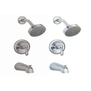 Victoria S8622 Shower Head with Tub Faucet Combo