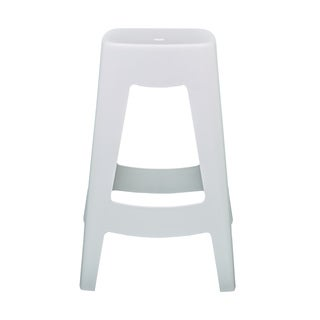 Coda White Stackable Counter Stool (Set of 4)
