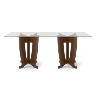 Manhattan Comfort Jane 2.0 -78.64 in Sleek Tempered Glass Table Top (4 options available)