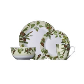 Pfaltzgraff Painted Forest Porcelain Dinnerware (16-piece Set)