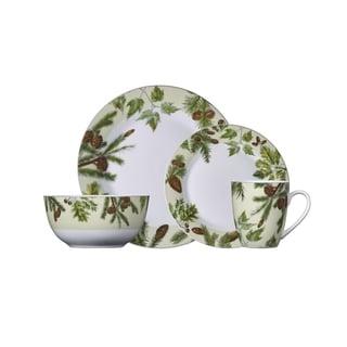 Pfaltzgraff Painted Forest Porcelain Dinnerware (16-piece Set)