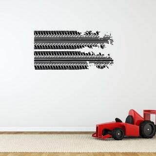 'Skidmarks' Vinyl Wall Art