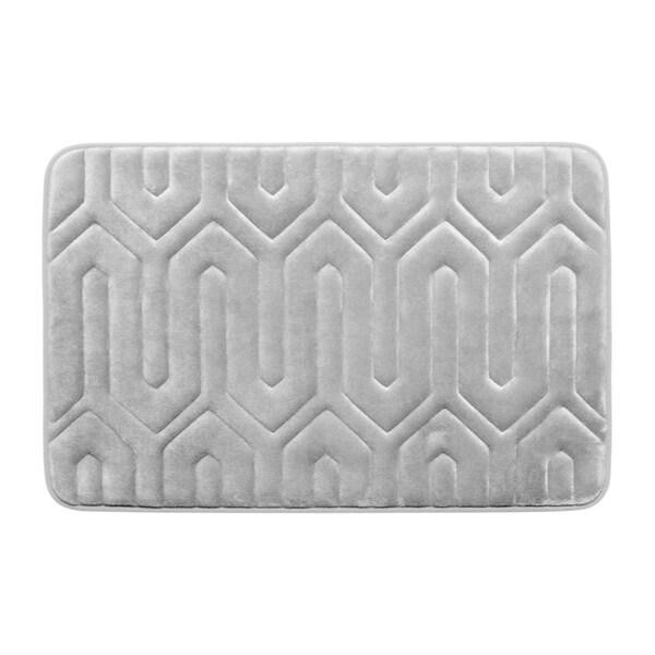 Thea Memory Foam 17 in. x 24 in. Bath Mat w/ BounceComfort Technology