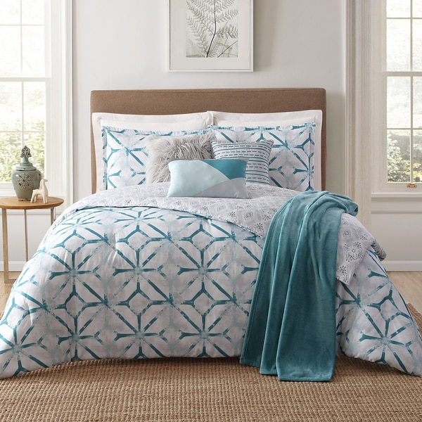 Jennifer Adams Home Lancaster Printed 7-piece Comforter Set