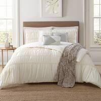 Jennifer Adams Home Solid Textured 7-piece Comforter Set