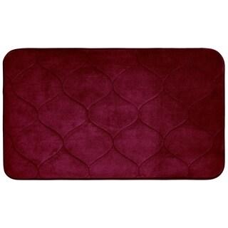 Palace Memory Foam 20 in. x 34 in. Bath Mat w/ BounceComfort Technology