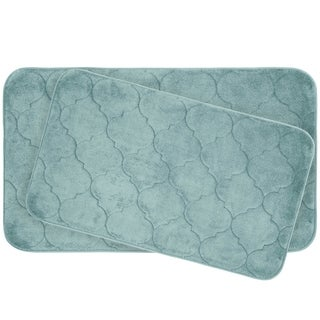 Faymore Memory Foam 2-piece Bath Mat Set with BounceComfort Technology