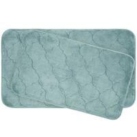 Faymore Memory Foam 2-piece Bath Mat Set with BounceComfort Technology