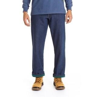 Stanley Men's Blue Cotton/Denim 5-pocket Jeans Lined in Anti-pill Fleece|https://ak1.ostkcdn.com/images/products/12734741/P19513514.jpg?_ostk_perf_=percv&impolicy=medium