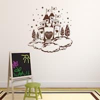 Cloud Castle Vinyl Wall Decal Sticker