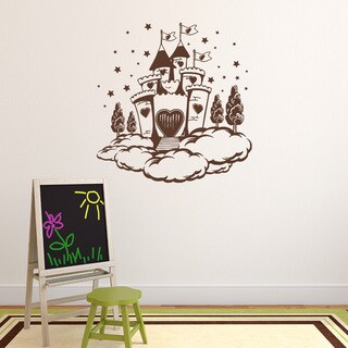 Cloud Castle Vinyl Wall Decal Sticker