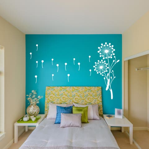 'Little Dandelion' Vinyl Wall Art
