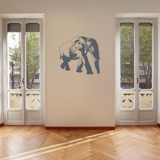 Elephant Wall Decal