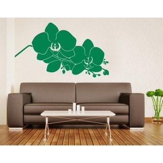 'Orchid Branch' Vinyl Wall Art