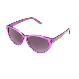 Hot Optix Girl's Cat-Eye Fashion Sunglasses