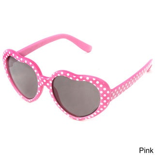 Hot Optix Childrens Heart-shaped Fashion Sunglasses