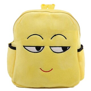 Baby Deluxe 'Show Your Emoticon' Sly Face Emoji Face Plush Kids' Backpack