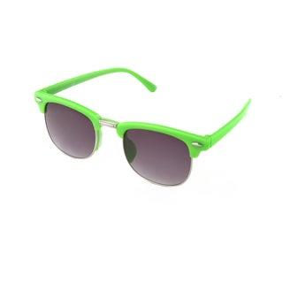 Hot Optix Children's Square Fashion Sunglasses (Option: Green)