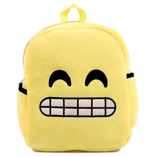 Baby Deluxe Show Your Emoticon Collection 'Grimmacing Face' Emoji Kid's Backpack