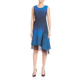 Elie Tahari Clarissa Asymmetrical Hem Dress
