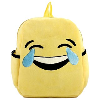 Baby Deluxe Show Your Emoticon Collection 'Tears of Joy' Emoji Face Kid's Backpack