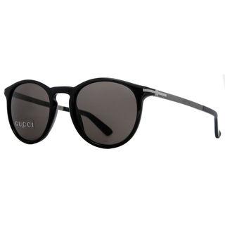 Gucci GG1110/S 0B2X Mens Round Sunglasses