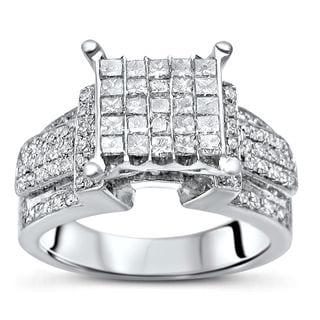 Noori 14k Gold 1ct TDW Diamond Engagement Ring