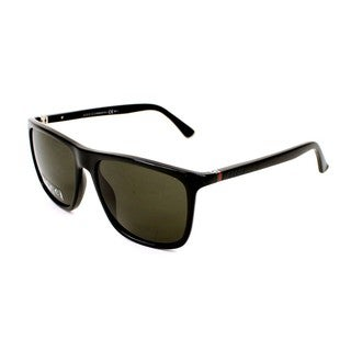 Gucci GG1132/S 0D28 Mens Rectangular Sunglasses