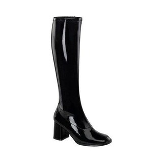Women's Funtasma Gogo 300HQ Boot Black/Red Patent (More options available)