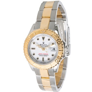 Pre-Owned Rolex Yacht-Master 169623 Women's Watch in 18K Yellow Gold and Stainless Steel