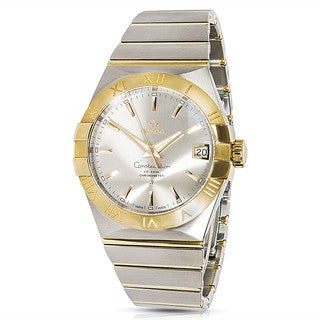 Pre-Owned Omega Constellation 123.20.38.21.02.002 Mens Watch in 18K Yellow Gold & Steel